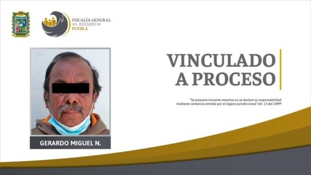 prisión sujeto presunta violación hija 6 años Puebla