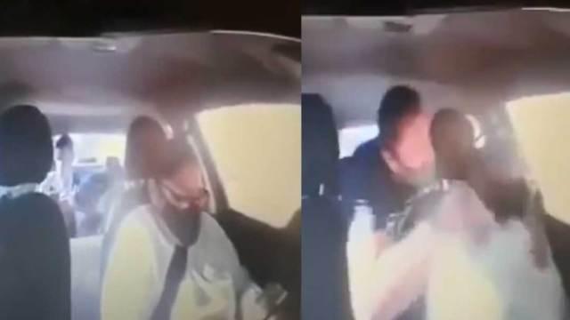 Un video muestra como un sujeto golpea y agrede a una conductora en Puebla. Medios locales cree que fue un intento de asalto