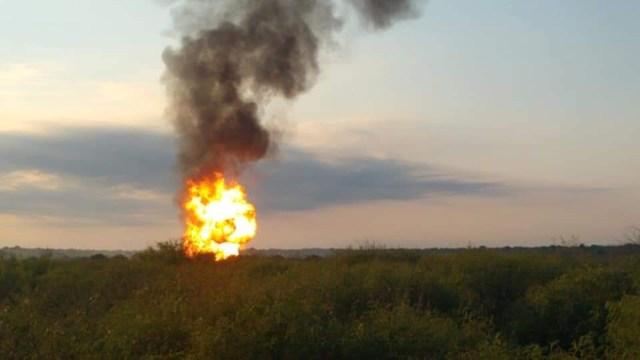 explosión gasoducto PEMEX Nuevo León