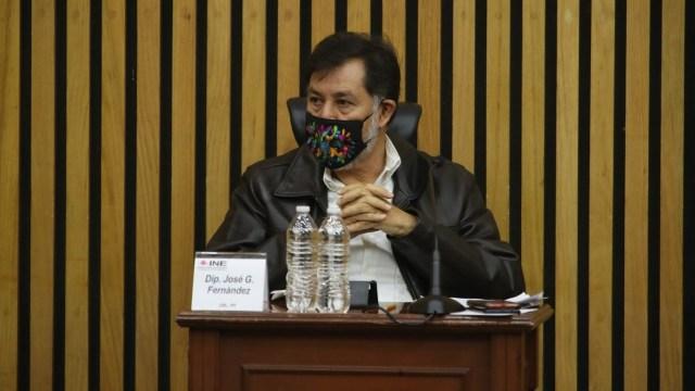 INE señala Fernández Noroña violencia política de género
