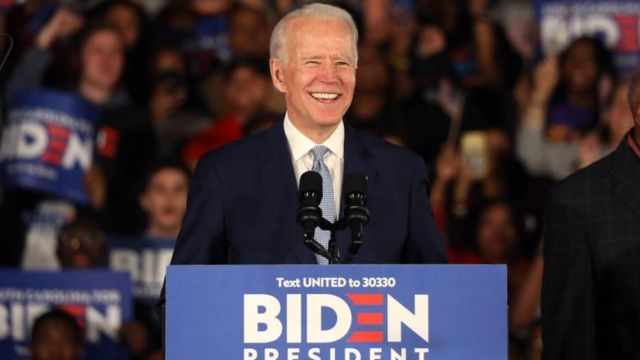 Joe Biden Candidato Presidente Estados Unidos