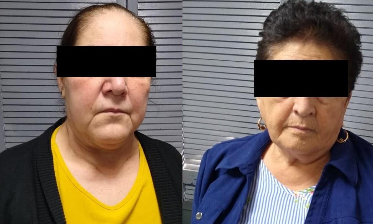 Detienen a dos abuelitas que eran utilizadas para transportar drogas