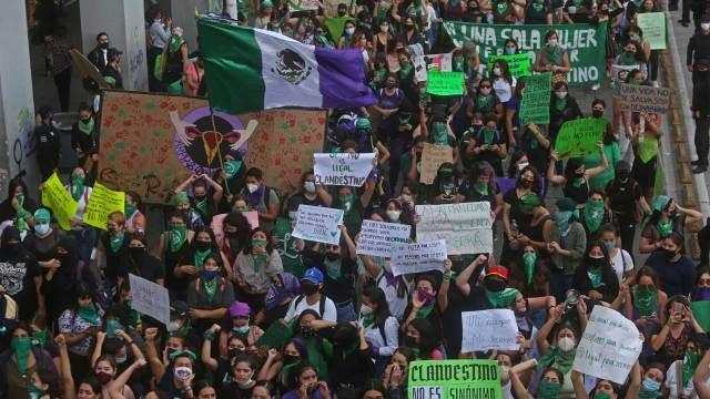Colectivos convocaron a una marcha feminista en la CDMX por el Día Internacional de la Eliminación de la Violencia contra la Mujer