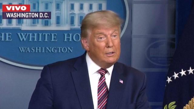 Donald Trump confirmó su postura al respecto de las elecciones presidenciales de los Estados Unidos: hay un fraude en su contra