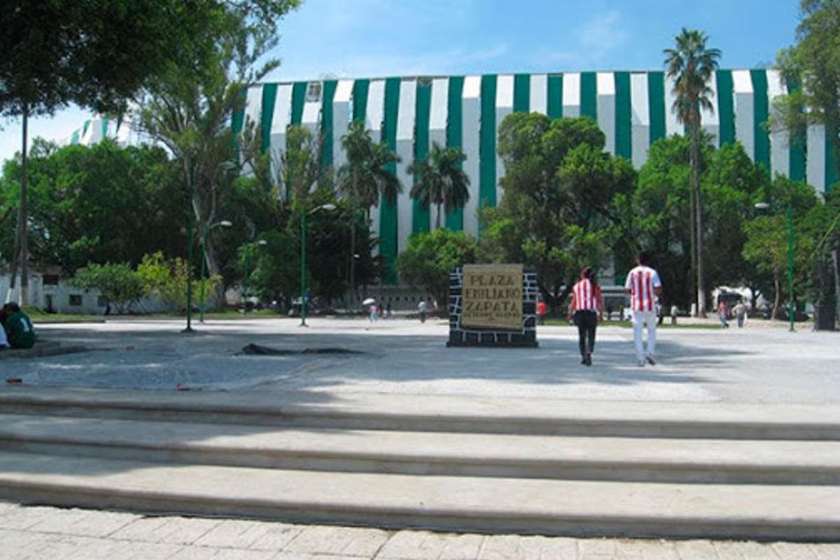 El equipo de futbol que juega en honor a Emiliano Zapata