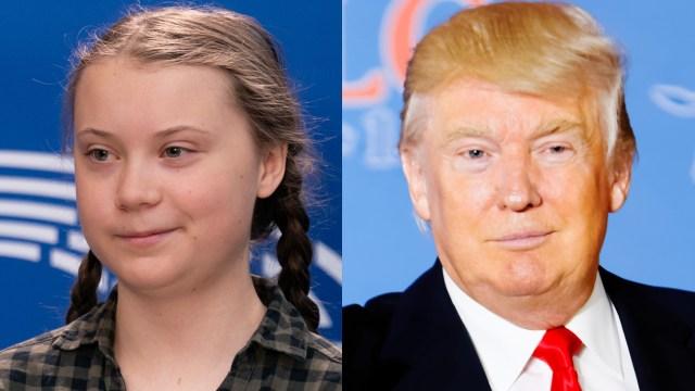 Greta Thunberg, la ambientalista sueca, se burló de Donald Trump, de la misma manera qué él presidente de Estados Unidos se mofó de ella