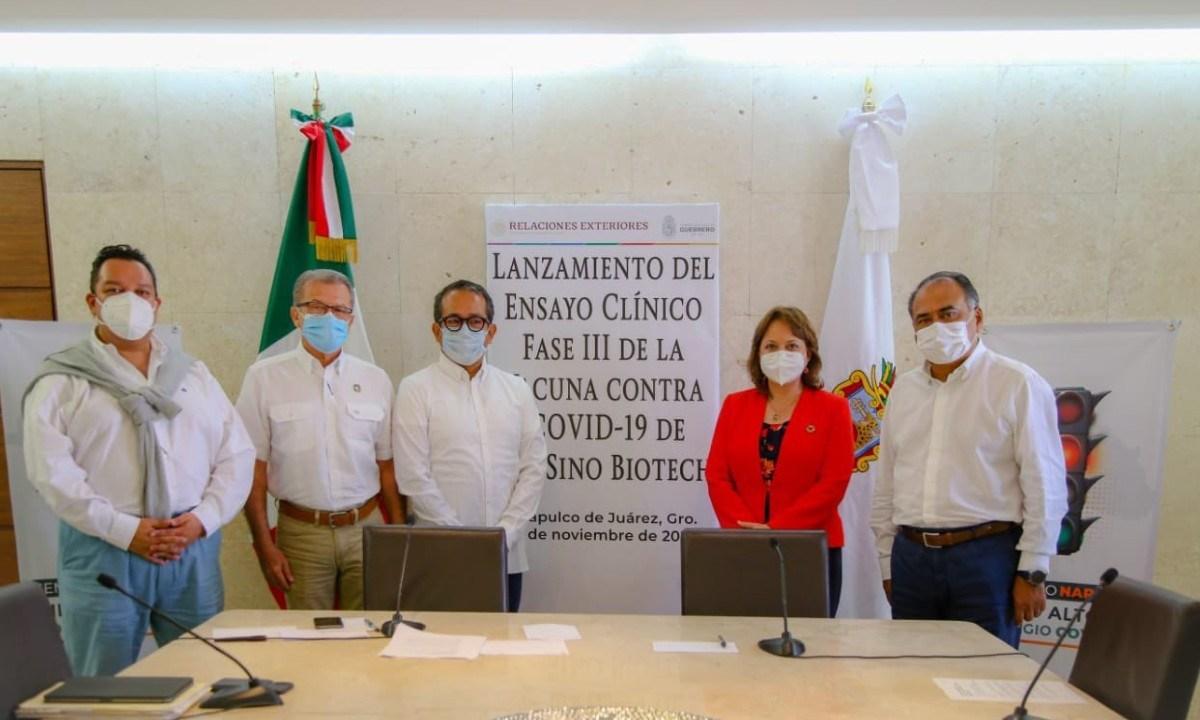 Guerrero: inicia fase 3 de prueba de vacuna contra el Covid