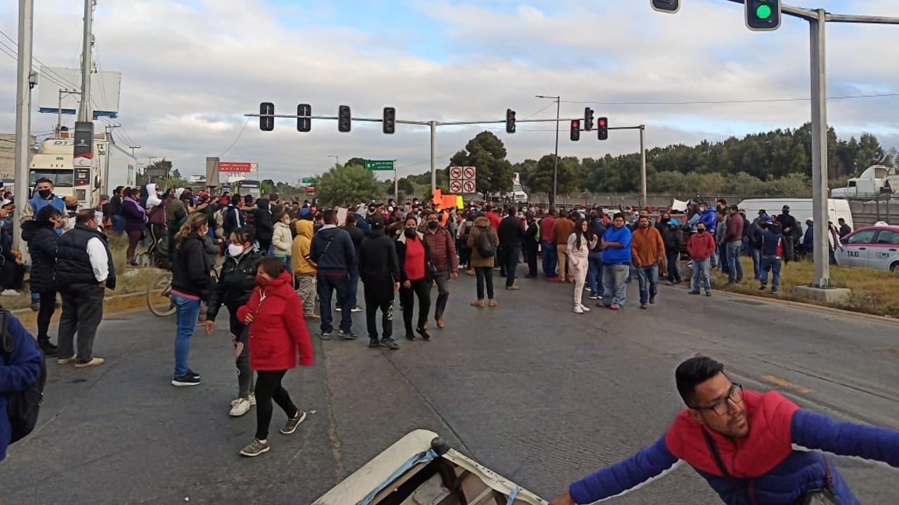 bloquean avenidas Ecatepec exigir reapertura bares