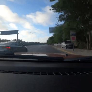 Familia huye a toda velocidad de sicarios en Tamaulipas [Video]