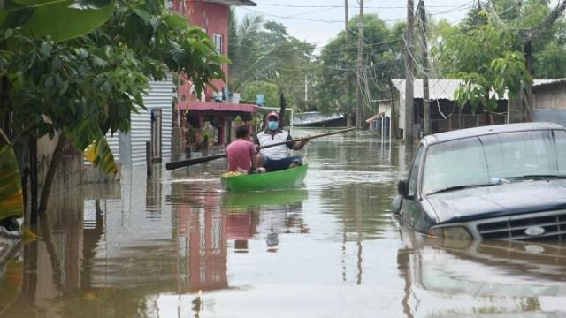 Municipio indígena de Tabasco es el más afectado por inundaciones