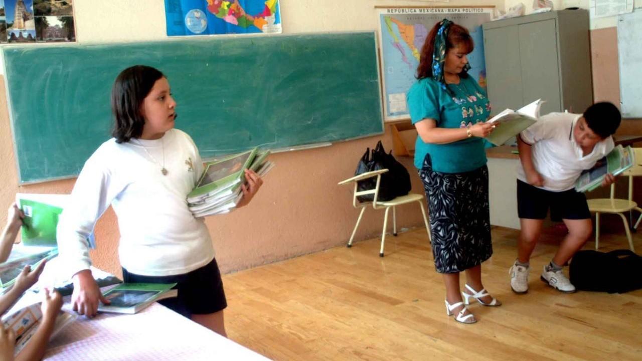 COVID-19 enfermedad riesgo de trabajo maestros SEP