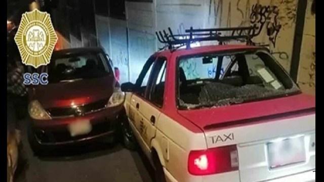 Conductor mató a golpes a taxista Iztapalapa CDMX