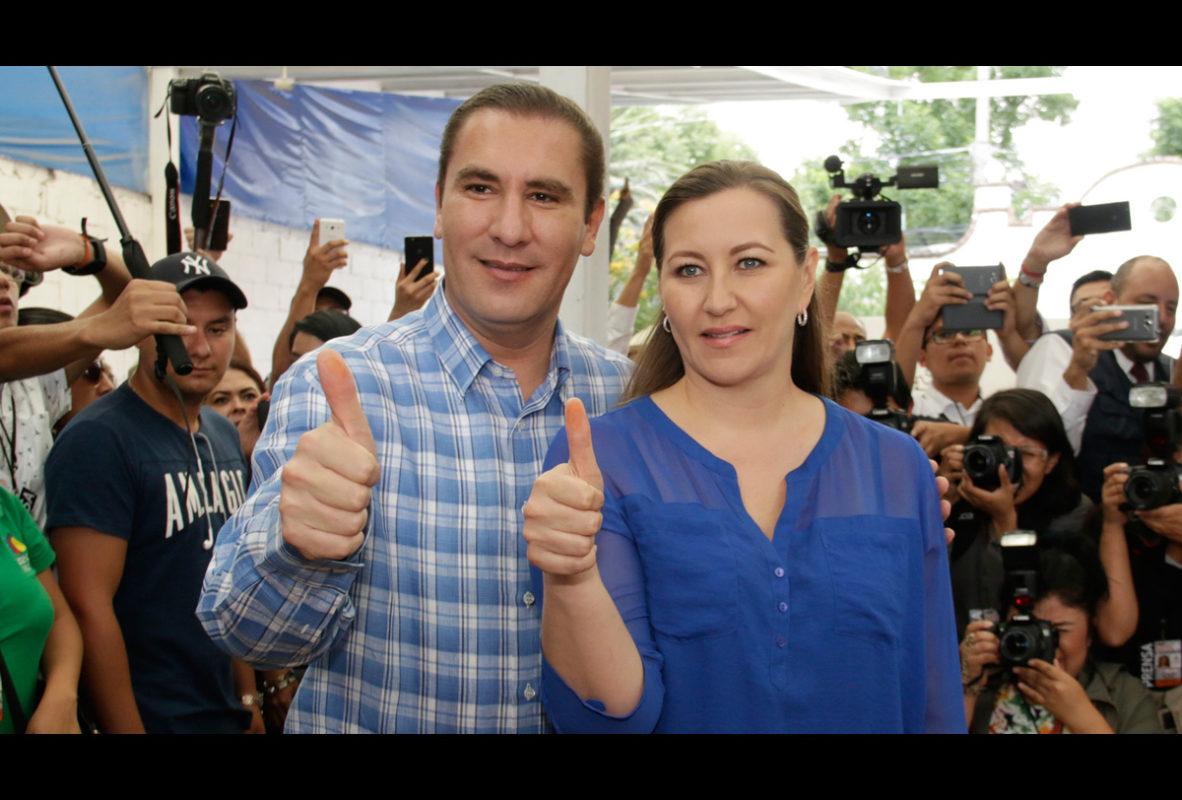 Detenidos Moreno Valle Érika Alonso