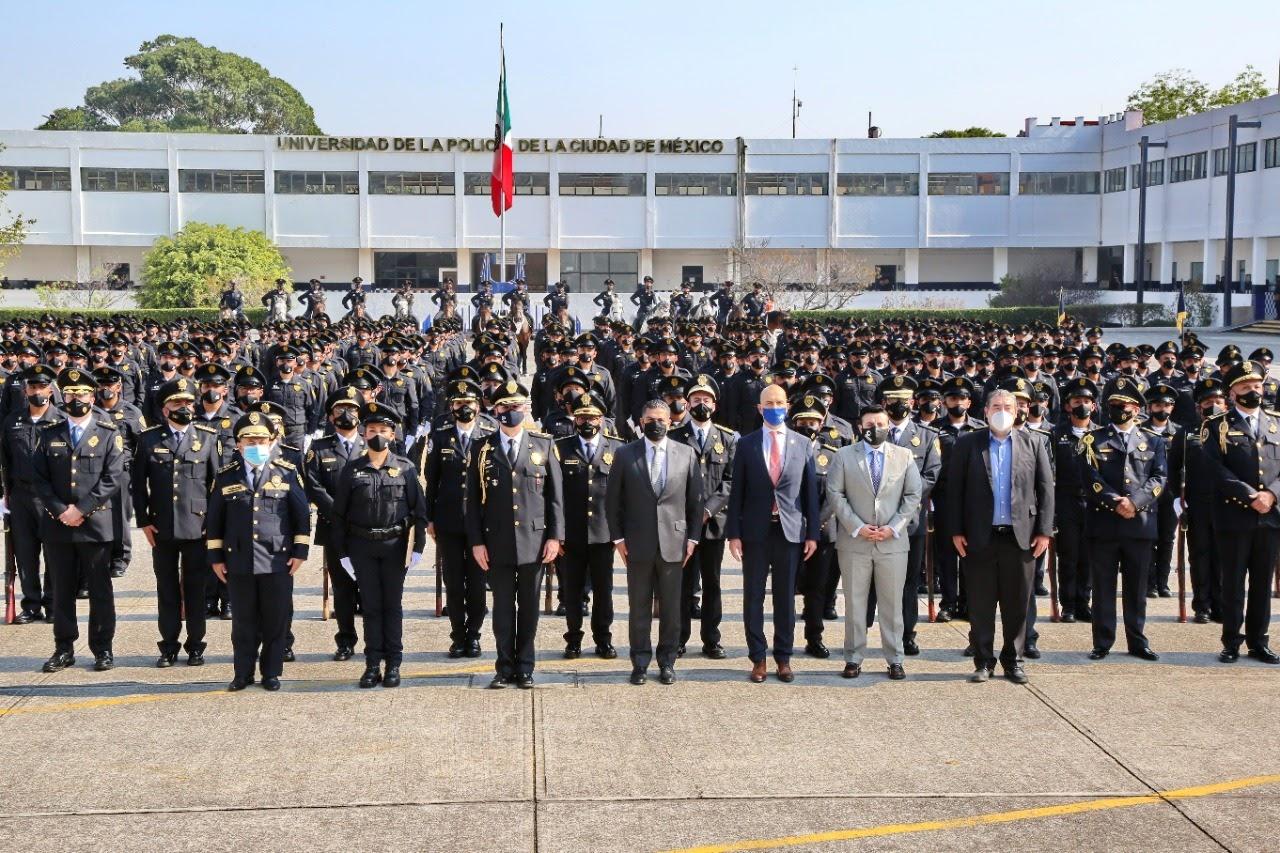 Graduados de la Universidad de la Policía