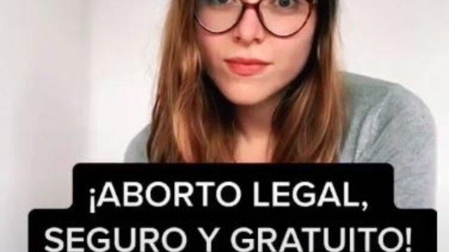 Estefanía Veloz explicó el aborto con misoprostol