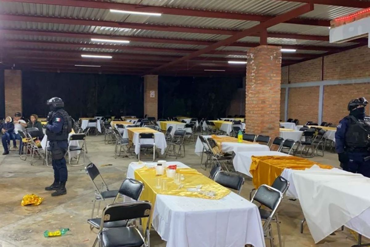 Guanajuato: Desalojan fiestas de bodas y XV años durante fin de semana