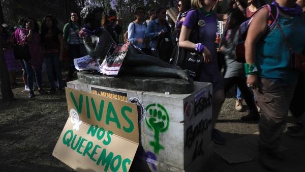 10 hechos más importantes México 2020 manifestaciones feministas