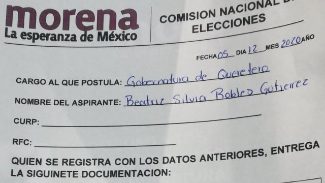 """Diputada de Morena no sabe escribir """"Querétaro"""", pero lo quiere gobernar"""
