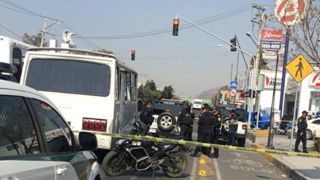 Tláhuac: Pasajera abate a asaltante durante atraco a microbús