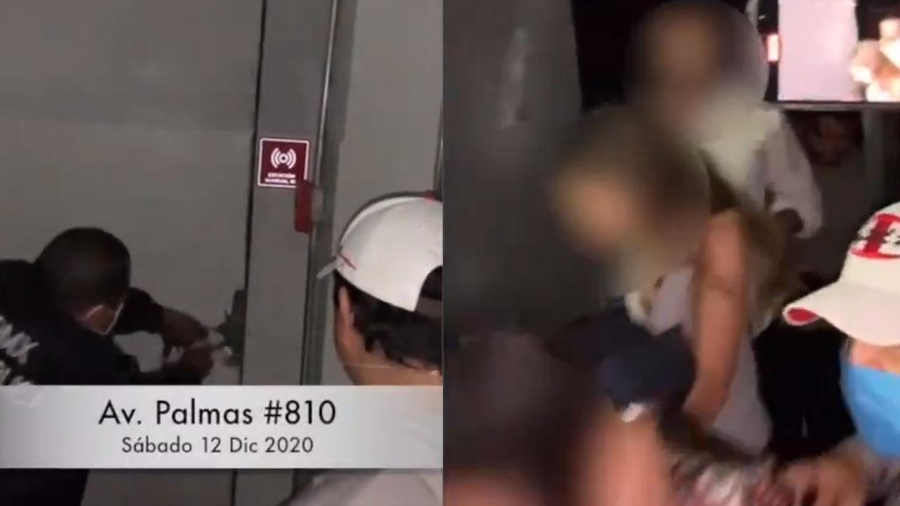 Video muestra el momento de la suspensión de una fiesta en bar clandestino de la CDMX, a pesar de la pandemia de COVID-19