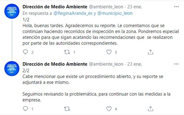Dirección de Medio Ambiente León