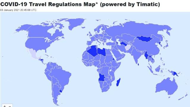 México y Afganistán dos países con menos restricciones viajeros pandemia COVID-19