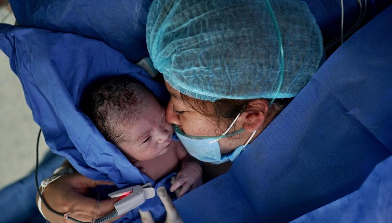 Primer bebé 2021 nace hospital IMSS CDMX