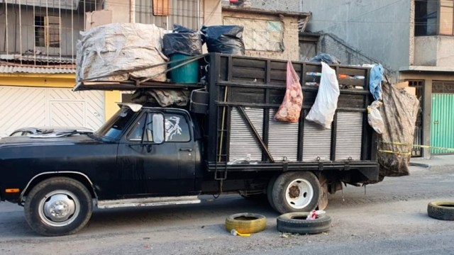 Niña muere camión de basura