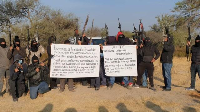 Autodefensas de Tecamachalco son de huachicoleros, dice gobierno de Puebla
