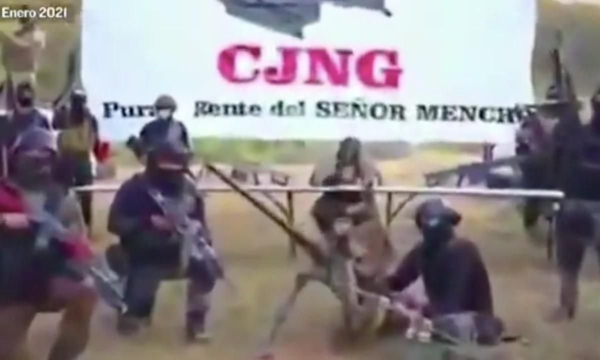 Video: presuntos integrantes de CJNG amenazan con ingresar a comunidades de Michoacán