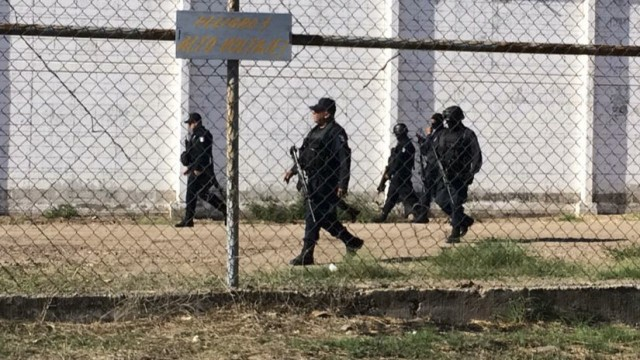 "Fuga hijo ""El Azul"" penal 2017"
