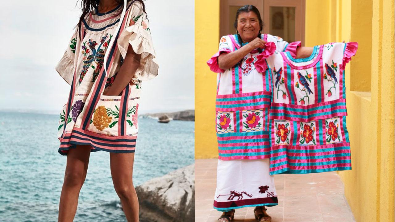 El vestido, de la marca Zimmermann cuyo costó era de 850 dólares, fue retirado del mercado por plagiar al huipil mazateco