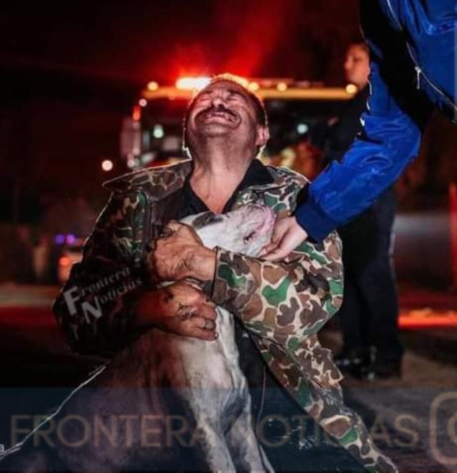 Mario Méndez sufrió el incendio de su casa en Mexicali