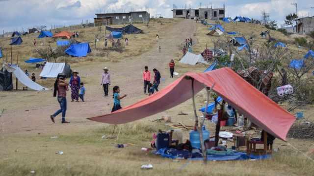 migraron escapar violencia México