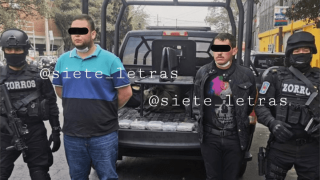 Caen 2 presuntos narcos del Cártel de Sinaloa en Polanco