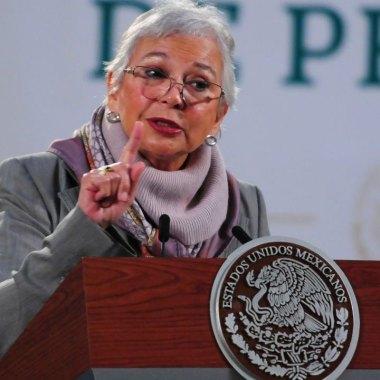 """Olga Sánchez Cordero aseguró que la """"4T es feminista"""" y que serán las mujeres decidirán sobre despenalización del aborto"""