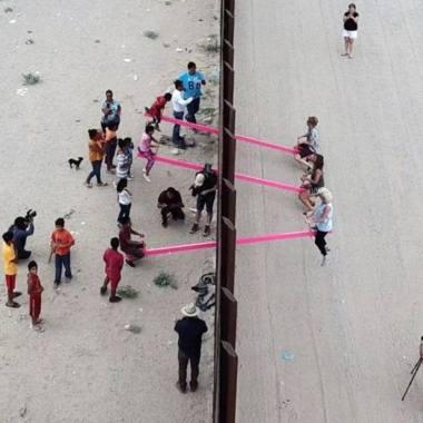 Sube y baja frontera México-EE.UU mejor diseño 2020