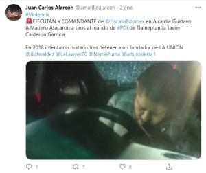ejecución policía investigación FGJEdomex en CDMX