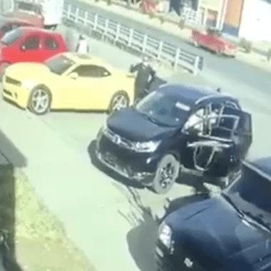 [Video] Captan secuestro de dos elementos de Guardia Nacional en Zacatecas