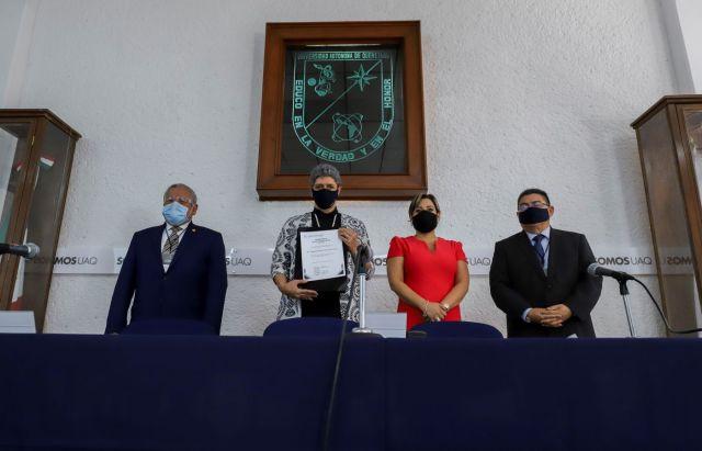 En la Universidad Autónoma de Querétaro se desarrolla una vacuna contra el COVID-19