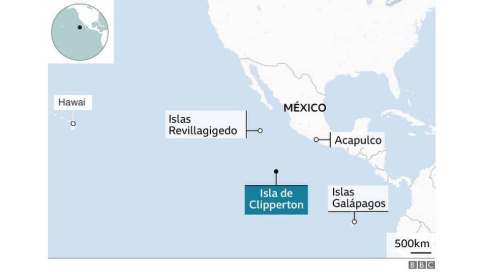 Clipperton, la isla que perdió México ante los franceses