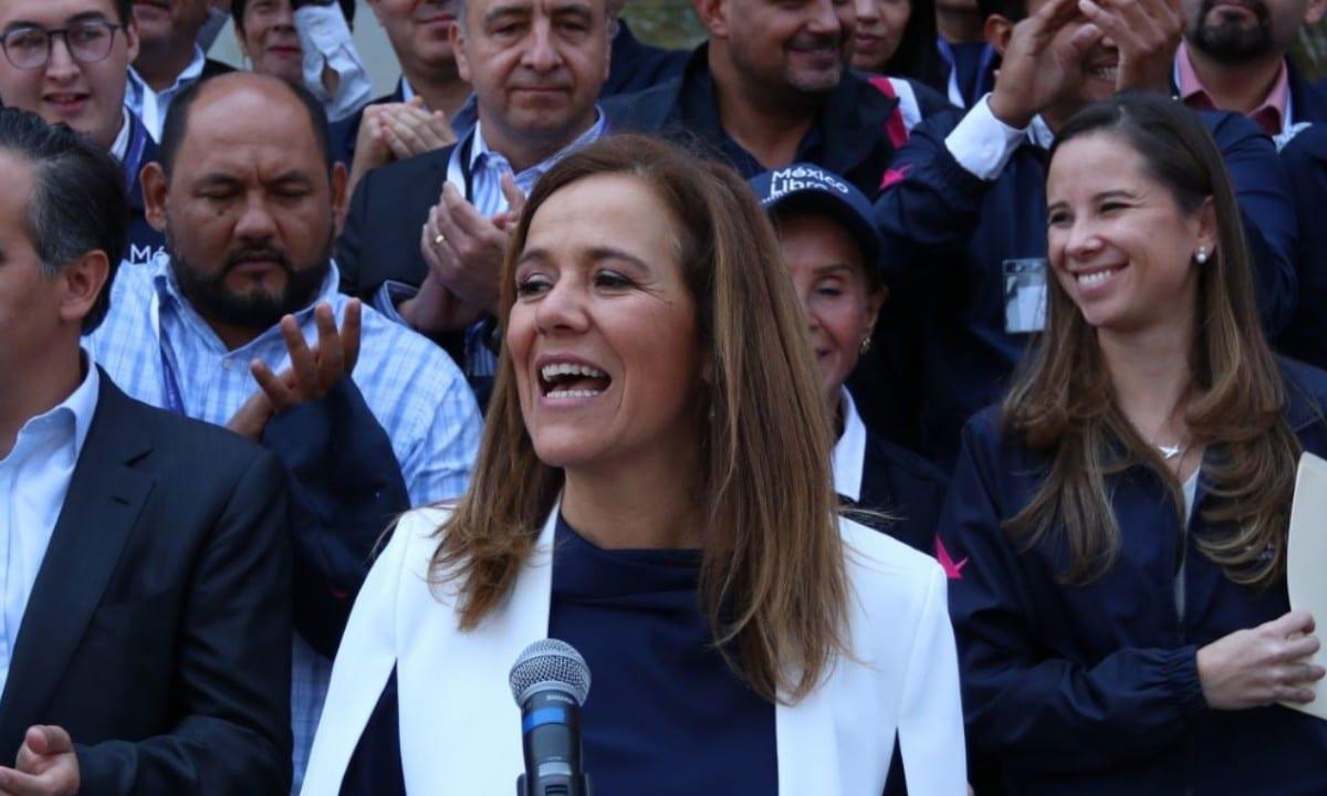 PAN registra a Margarita Zavala y a Gabriel Quadri como candidatos a diputados federales