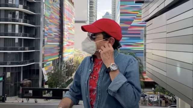 """Pepillo Origel recibe la segunda vacuna del Covid en Miami: """"no me pidieron ni visa"""""""