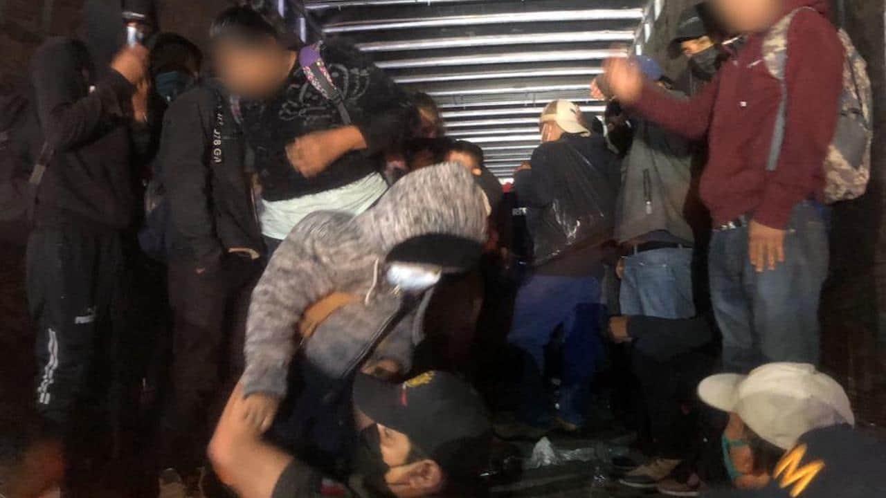 201 migrantes centroamericanos rescatados Chiapas INM