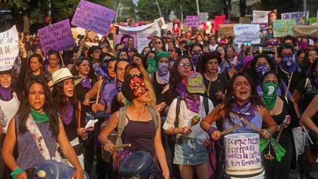 Colectivos feministas convocan marcha 8M CDMX