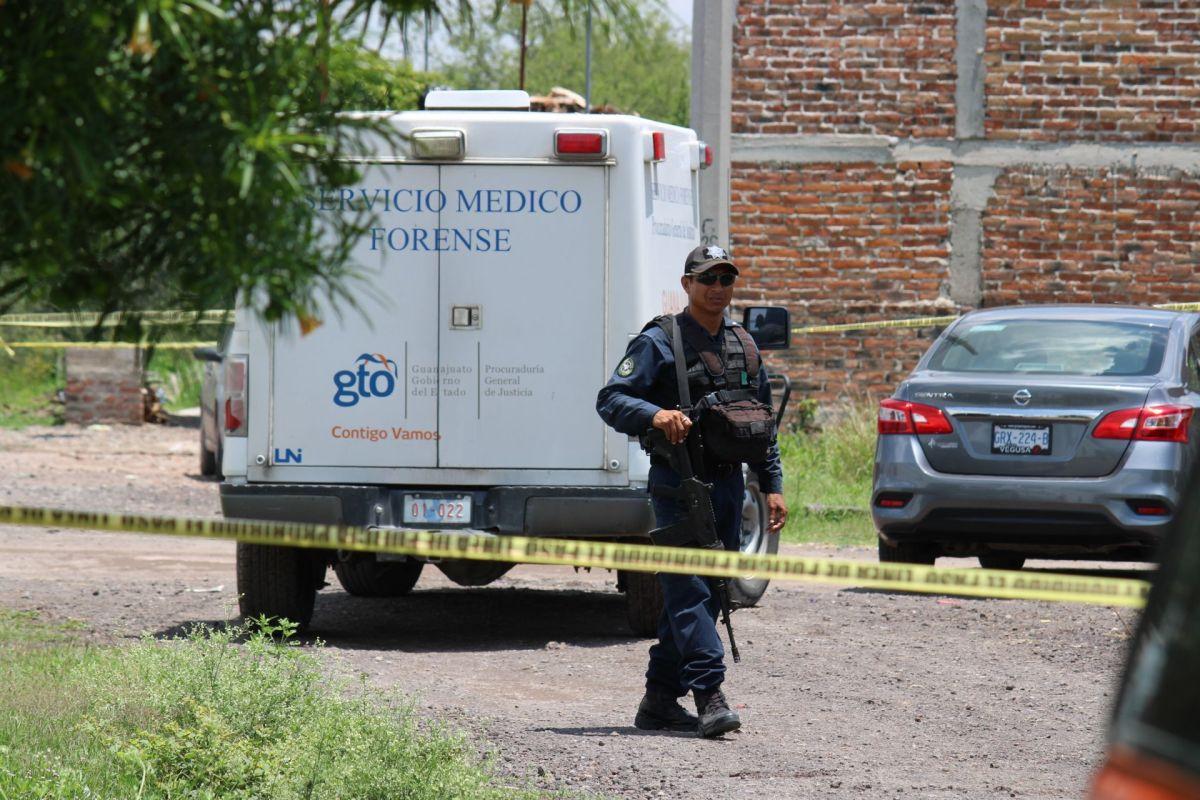 Homicidio en Guanajuato