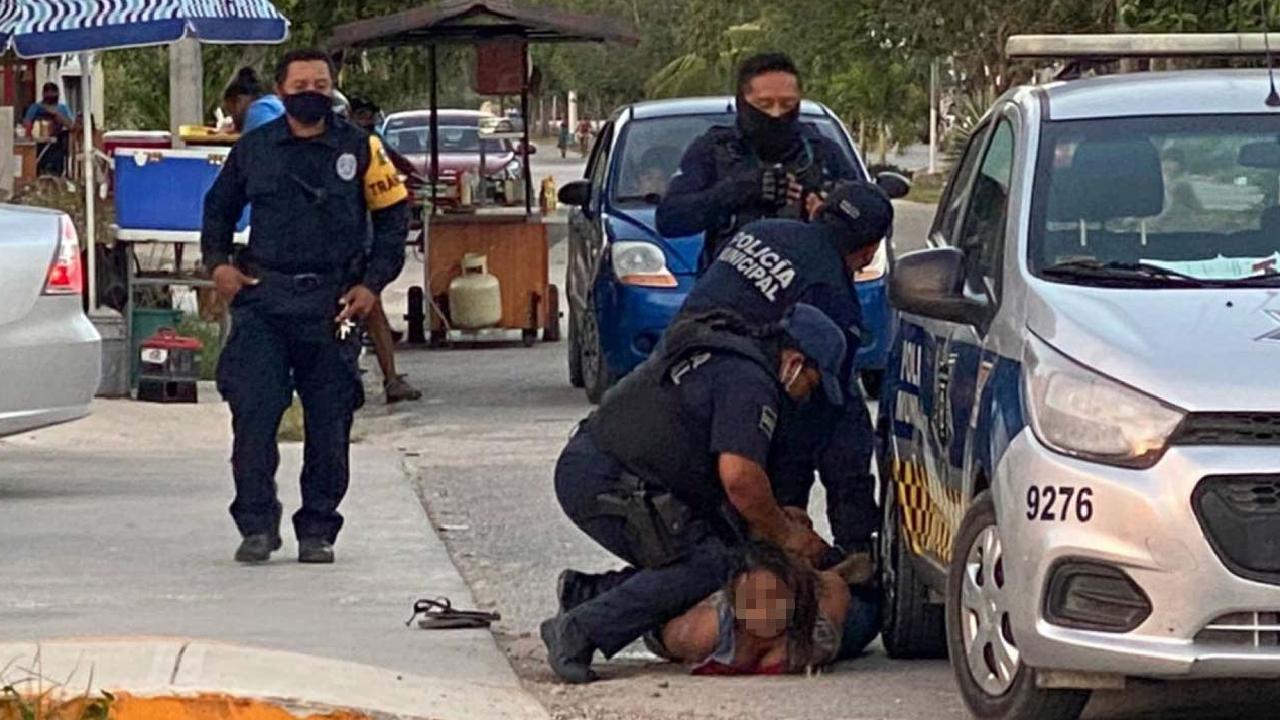 Detuvieron a la pareja de Victoria Salazar por ejercer violencia contra ella