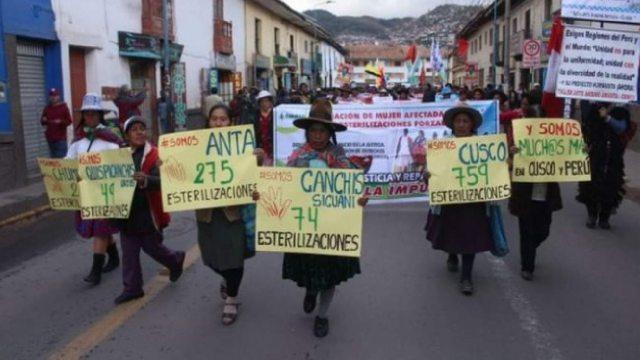 Esterilización de 300 mujeres indígenas en Perú