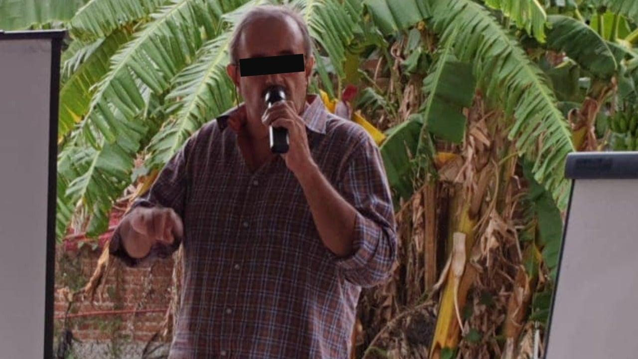 Gabriel Vallejo Zerón psicoanalista denunciado