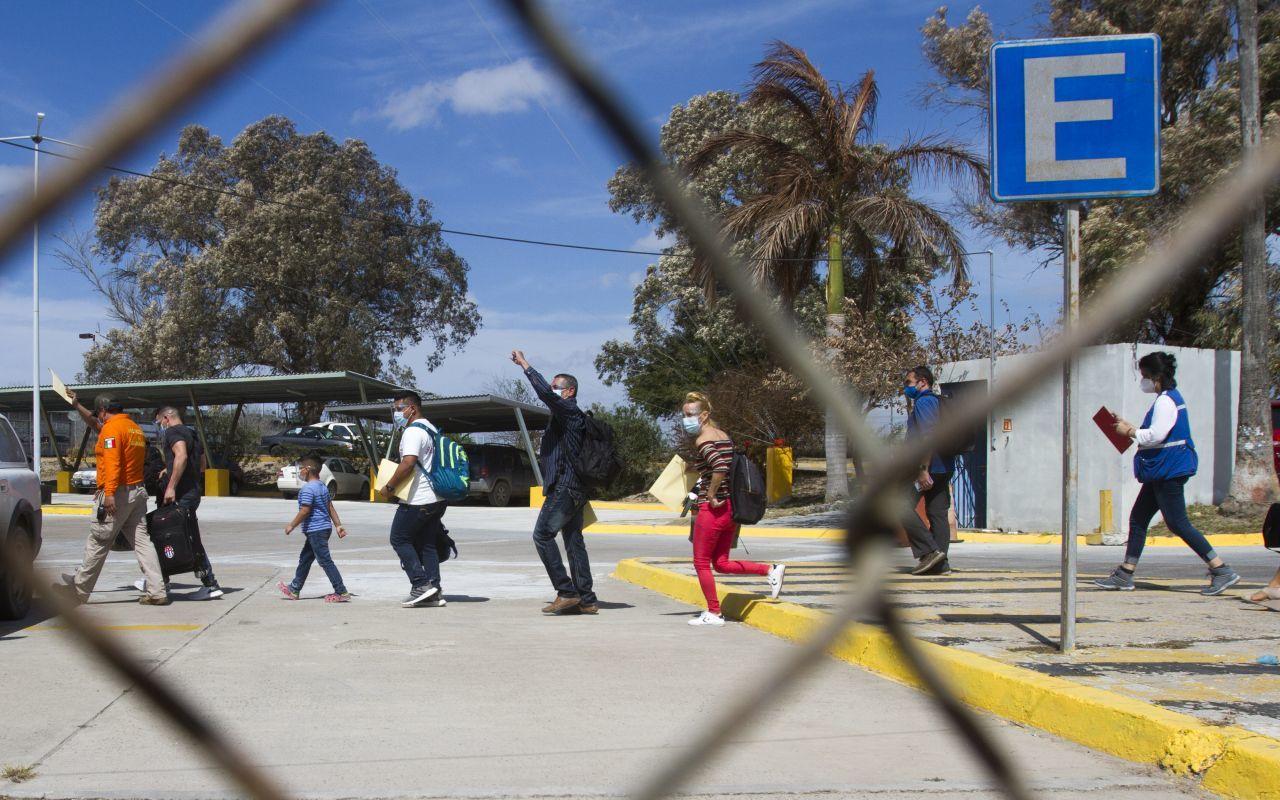 Migrantes Tamaulipas Campamento